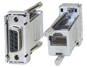 DB-9F serial adapter