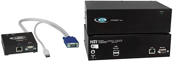 XTENDEX® ST-C5USBV Local and Remote Units