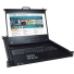 RACKMUX-4K17-N-16HD4K – Rackmount 4K KVM Drawer with 4K HDMI USB KVM Switch (front view)