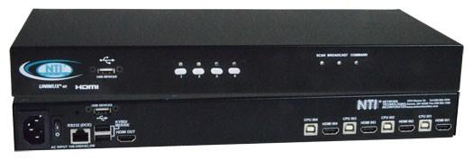UNIMUX-HD4K-4 (Front & Back)